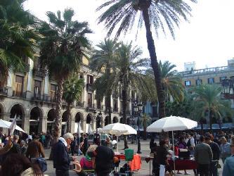 Welt Stadt Buenos Aires San Telmos Antik Markt des Jahres 1856 Stadtrundfahrt Buenos Aires