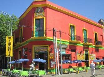 übersätzungen deutsch spanisch  La Boca die  Tango  Ecke Argentiniens  Stadtrundfahrt Buenos Aires