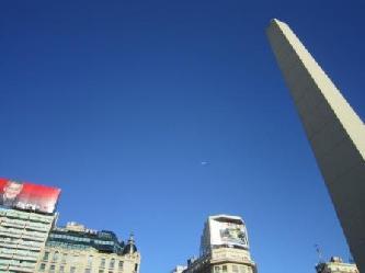 übersätzungen deutsch spanisch  Buenos Aires Obelisk Stadt Mitte in Down Town BA  Stadtrundfahrt Buenos Aires